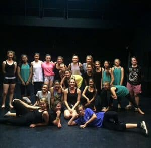 Dance Students