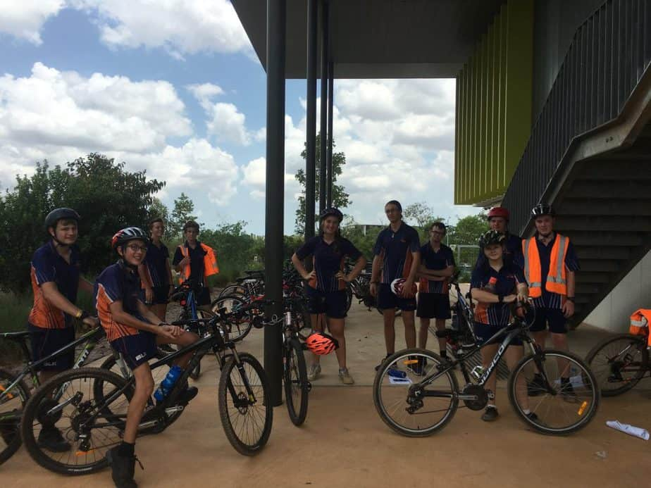 Senior Students Mountain Biking