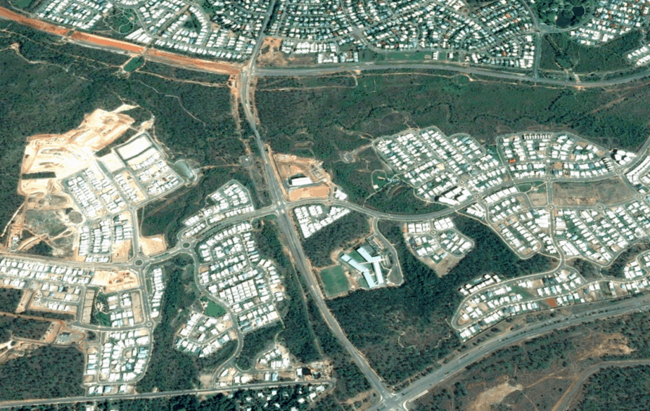 Aerial View MacKillop Palmerston